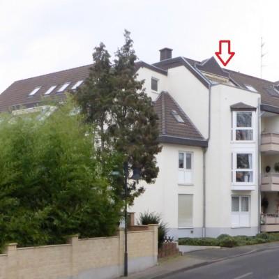 Mondorf, Rheinnähe, 2-Zimmerwohnung mit Dachterrasse und TG-Stellplatz